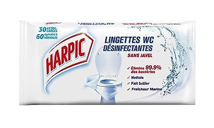 Harpic toallitas WC X 30