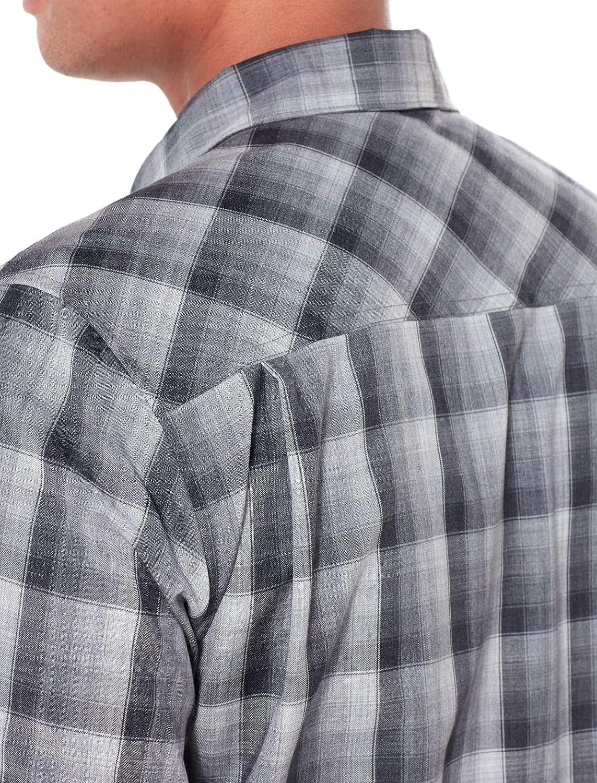 Icebreaker Merino Mens Departure Ii Button Down Shirt for Travel New Zealand Merino Wool