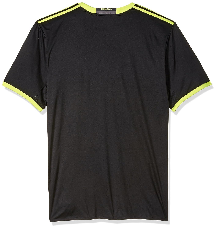 271b2c95 Amazon.com : adidas International Soccer Chelsea Men's Jersey, X-Large,  Black/Yellow/Granite : Sports & Outdoors