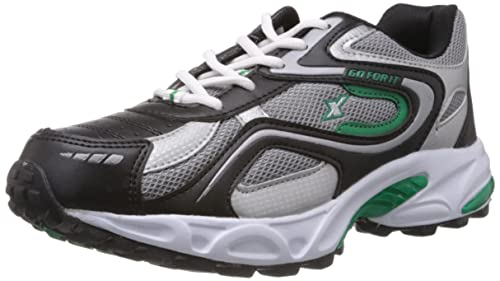 Sparx Men's Sports Running Shoes Black Green Men's Running Shoes at amazon