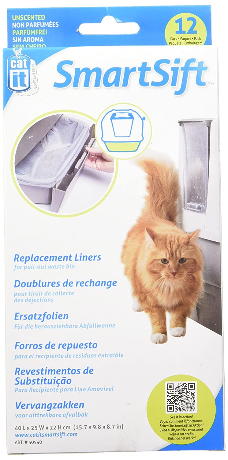 Amazon.com: Catit Design SmartSift Liner for Cat Pan with Drawer (3-Pack): Pet Supplies