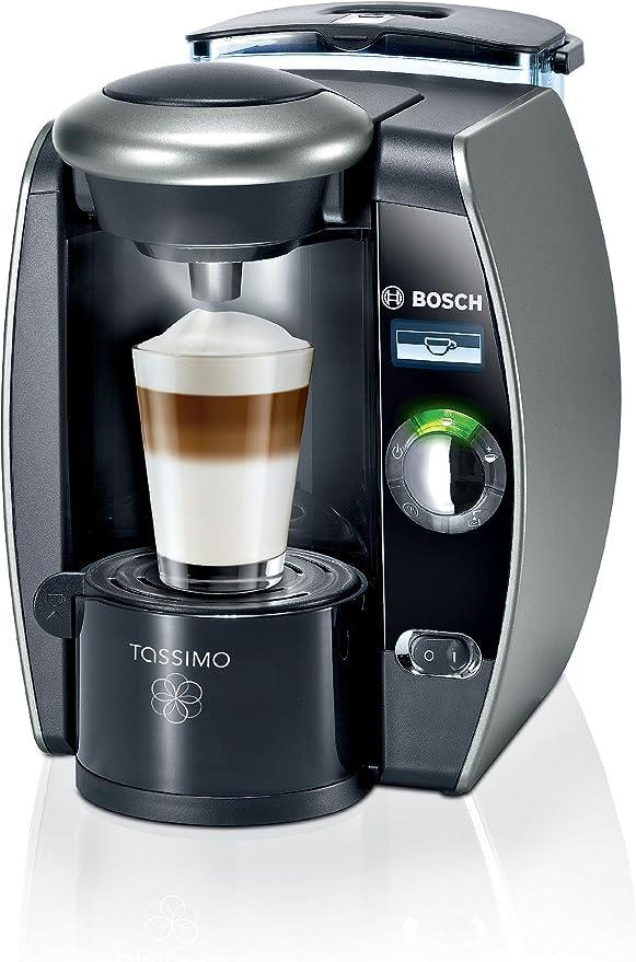 Bosch TAS6515 Tassimo - Cafetera monodosis automática, color titanio: Amazon.es: Hogar