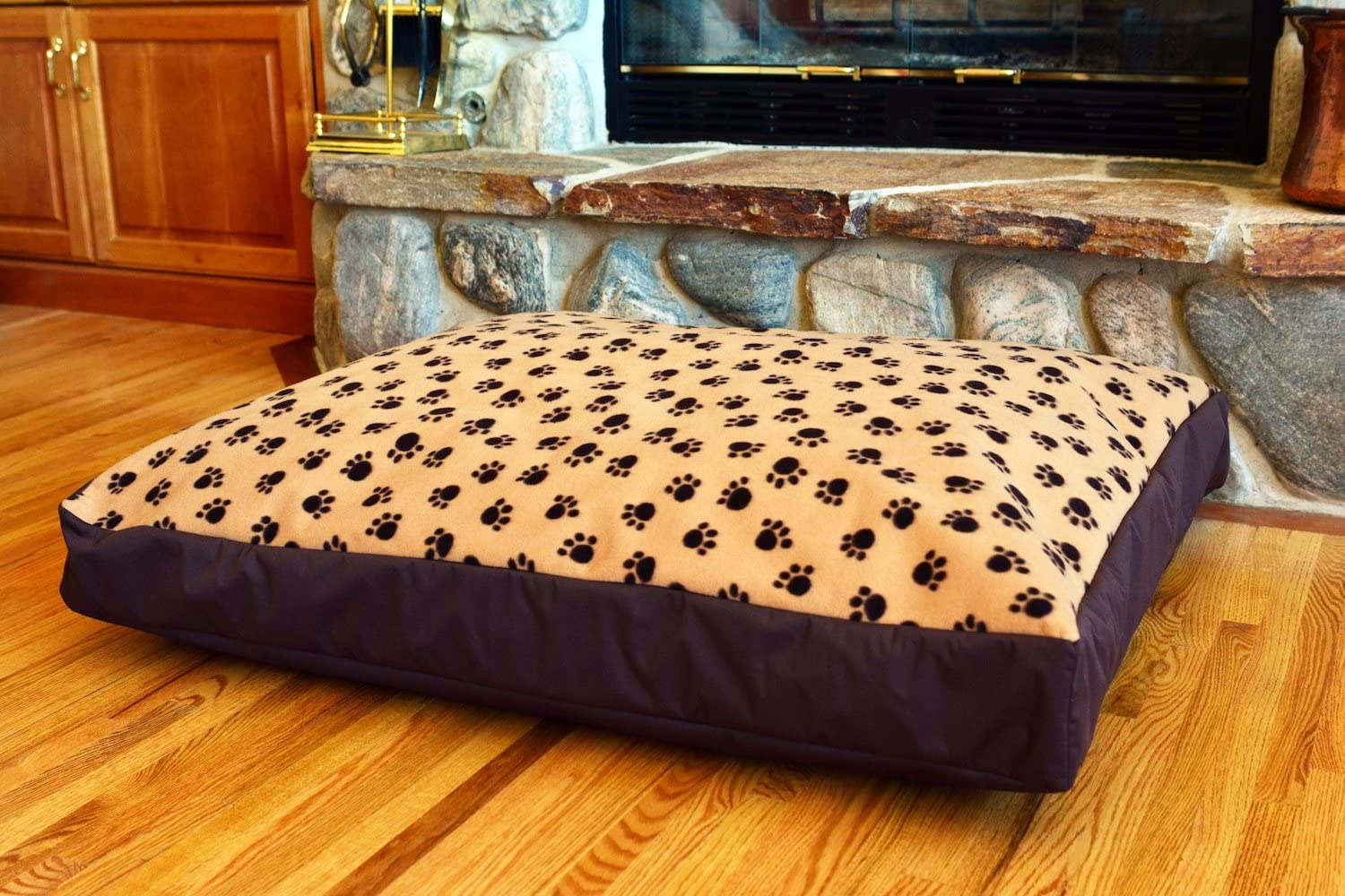 100 Waterproof Fleece DIY Design-It-Yourself Dog Bed Cover Washable Hypoallergenic Made in USA Cover ONLY
