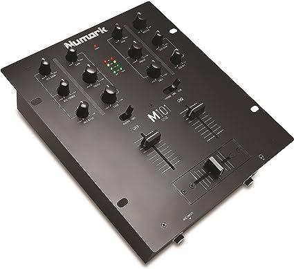 Numark M101USB - Mezclador de DJ Polivalente de 2 Canales ...