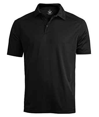 7b77e3d2f82fd Averill s Sharper Uniforms Men s Extreme Fitted Restaurant Polo Shirt Small  Black