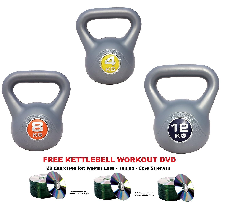 Kettlebells Dipped Neoprene 10kg Kettlebell