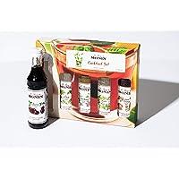Monin Syrup Cocktail Pack Kit, 5 Pack, 50 ml