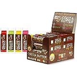 Nature's Bees, Cocoa Butter Lip Balms, Lip Moisturizer Treatment - Pack of 24, (Original Variety Assortments - Original…