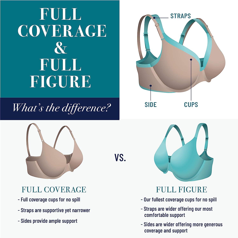 Details about  /Vanity Fair Women/'s Medium Impact Convertible Sports Bra