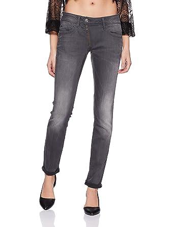 44d83d9d5f7 G-Star Raw Women s Lynn Zip Midrise Skinny Slander Grey Super Stretch Jean