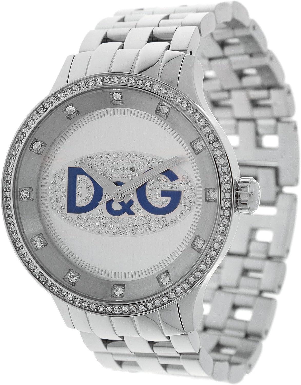 Dolce & Gabbana na BRC DW0133 - Reloj de Mujer de Cuarzo, Correa de Acero Inoxidable Color Plata