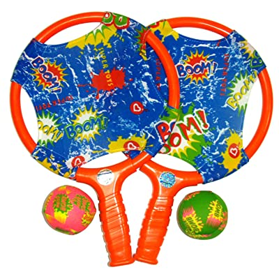 Water Sports Itza Paddle Ball with Splash Balls (Colors May Vary): Toys & Games
