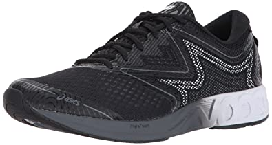 4bd47bdc5147 ASICS Mens Noosa FF Running Shoe Black White Carbon 7 Medium US