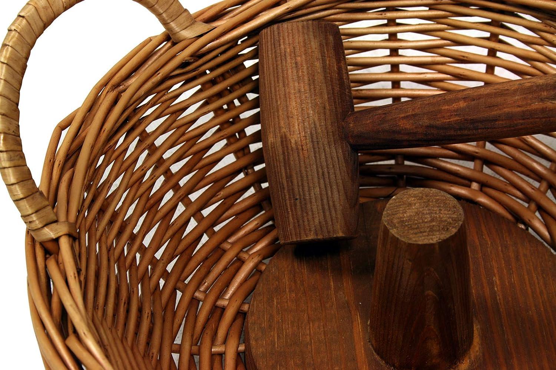 Buar Artesans Casse-noix 30 x 30 x 12,5 cm