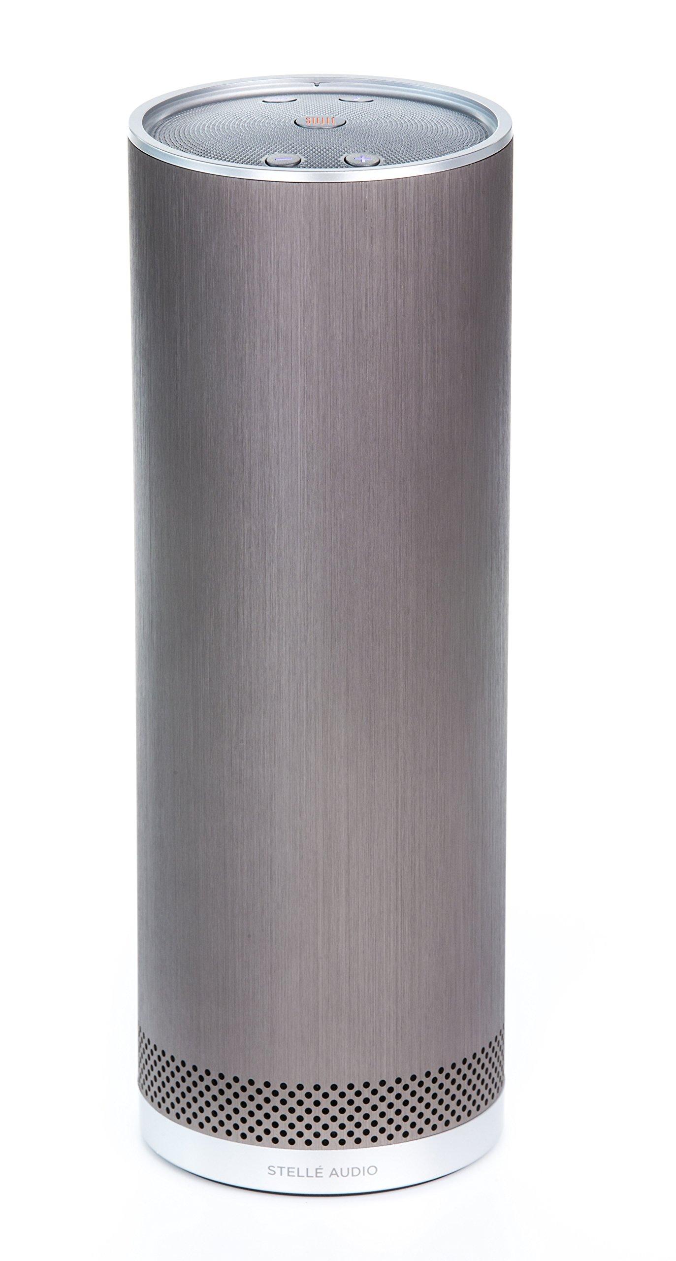 Stelle Audio Pillar, (Pewter)