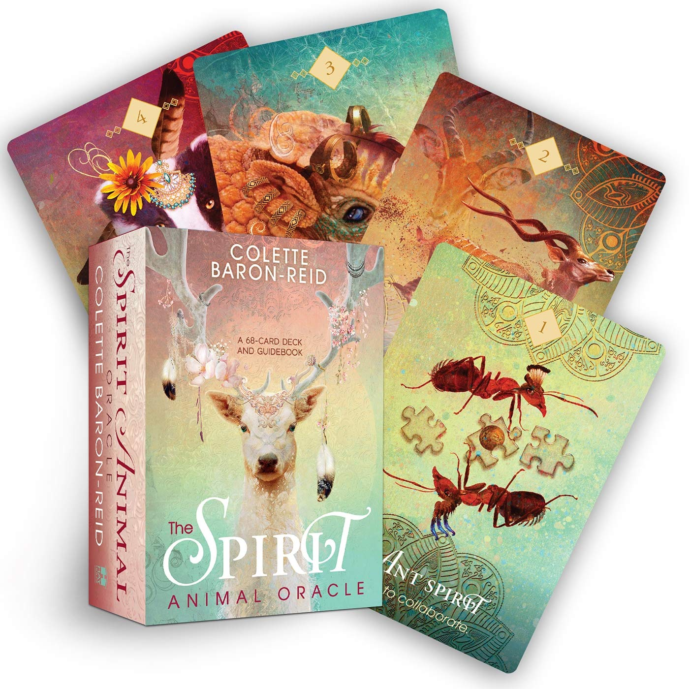 The Spirit Animal Oracle: A 68-Card Deck and Guidebook: Baron Reid,  Colette: 9781401952792: Amazon.com: Books