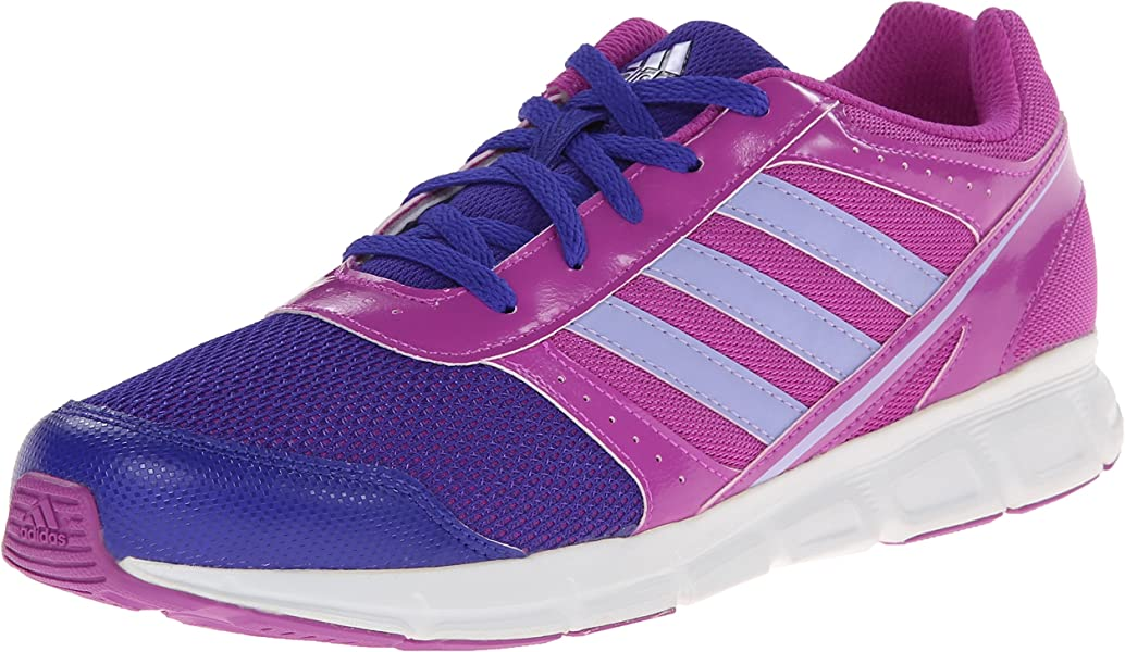 sports shoes 687c3 747cb adidas Performance Hyperfast Running Shoe (Little Kid Big Kid),Pink Purple