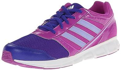 adidas Performance Hyperfast Running Shoe (Little Kid/Big Kid),Pink/Purple