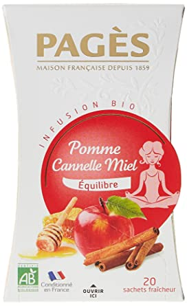 infusion pomme cannelle pages