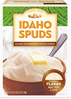 product image for Idaho Spud Potato Idaho Spuds Mashed Potatoes, 26.7-Ounce (Pack of 6)