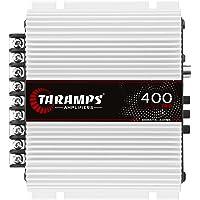 Amplificador 400 TRIO 2 OHMS Classe D, Taramps, Branco, Pequeno
