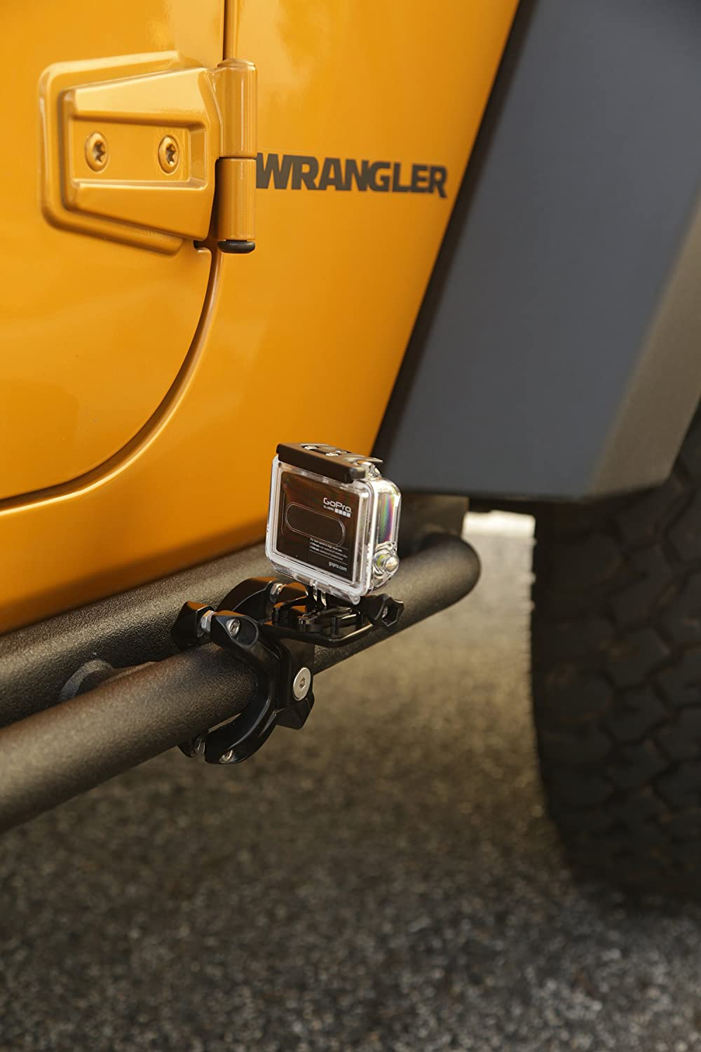 Rugged Ridge 11031.02 Black X-Clamp for 1.25-2 Tube Bumper Roll Bar and Cage Accessory Mount 2-Piece Kit