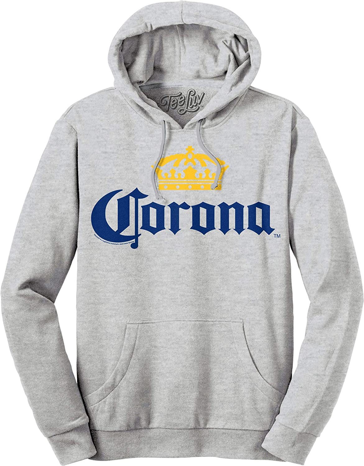 Amazon Com Tee Luv Corona Hoodie Hooded Corona Beer Sweatshirt Clothing