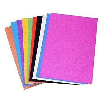 Cartulina De Colores Brillantes 300g 20x30cm 20 Hojas - Papel-manualidades