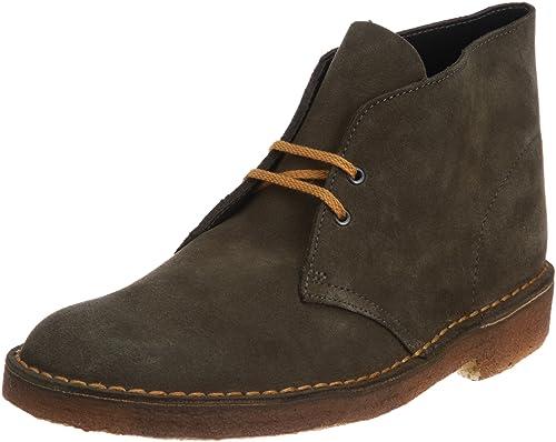 2aefcc8a4c0aa1 Clarks Originals 20340915 Scarpe stringate Desert Boot, Uomo, Verde  (Tobacco Suede), 42.5: Amazon.it: Scarpe e borse