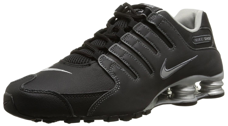 NIKE Shox NZ EU, Pantoufles Homme, Noir (Schwarz), 43 EU  Amazon.fr   Chaussures et Sacs 255d0696241e