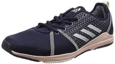 adidas Damen Crazytrain Pro W Trainingsschuhe, Schwarz (Core Black/Silver Met/Core Black), 36 EU