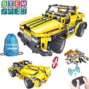 STEM Toys for Boys and Girls,426 Pieces Educational Engineering Building Blocks Kits for Kids 7 8 9 10+ Years Old|RC Car Construction Set Christmas Birthday Gift for Age 6yr-14yr