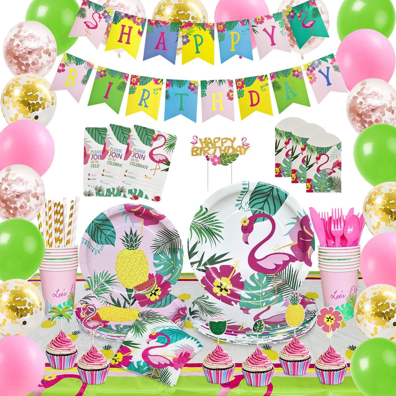 Flamingo charm bracelets Luau Birthday Party Favors Flamingo Bracelet Tropical Birthday Beach Tiki Party Flamingo Birthday party favor 8