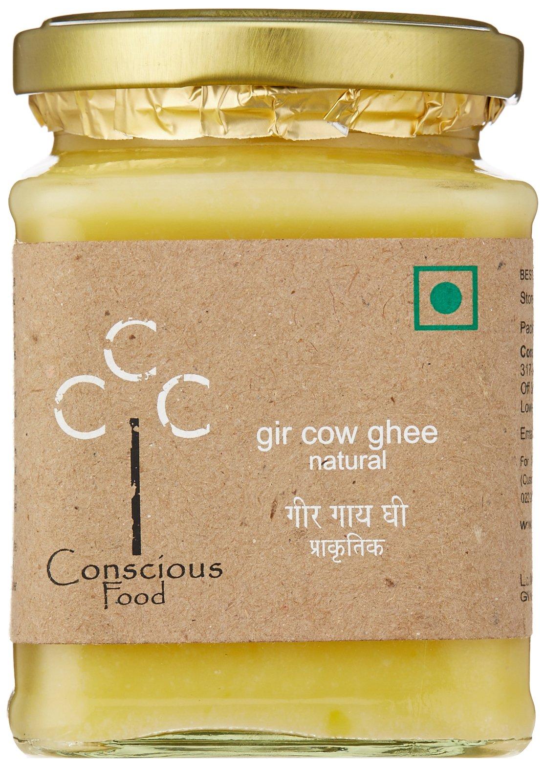 Conscious Food Gir Cow Ghee Natural - 200g by Conscious Food