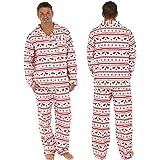 Reindeer Stripe Long Sleeve Sleepwear Family Matching Christmas Pajamas Sets