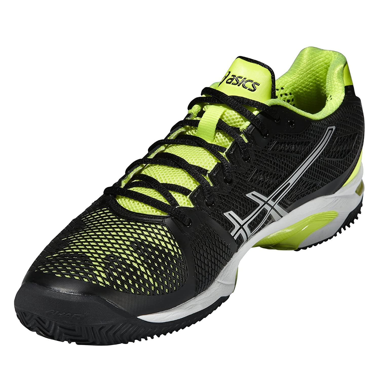 de759c4e3e28 ASICS - Gel-Solution Speed 2 Clay Men s Tennis Shoes (Yellow Black) - EU  41