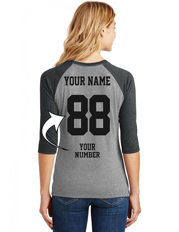 Tee Miracle Custom Baseball Jerseys for Ladies - MAKE YOUR...
