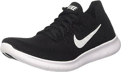 Nike Free RN Flyknit 2017, Zapatillas de Entrenamiento para Hombre, Negro (Black/White-Black 001), 38.5 EU: Amazon.es: Zapatos y complementos