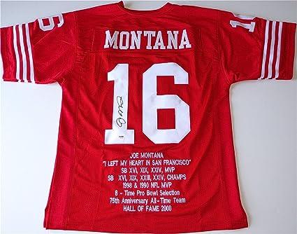 info for b5916 1c52e Joe Montana 49ers Signed
