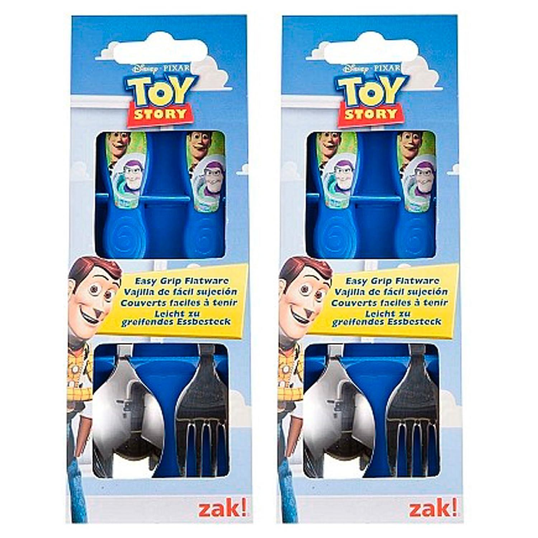 保障できる ToyStory Easy Grip Flatware Easy by Zak Designs Designs by B007NJUOAC, 岩滝町:dc68f71e --- a0267596.xsph.ru