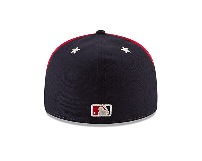 8cacc43326b Amazon.com   New Era Washington Nationals 2018 MLB All-Star Game On-Field  59FIFTY Fitted Hat - White Navy   Sports   Outdoors
