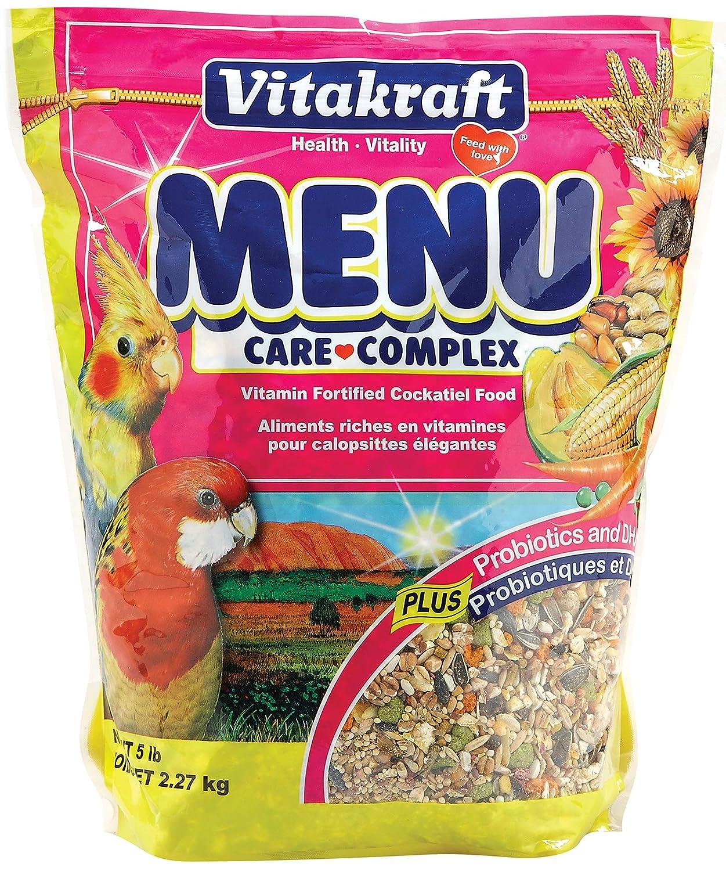 Vitakraft Menu Vitamin Fortified Cockatiel Food 5 lb.