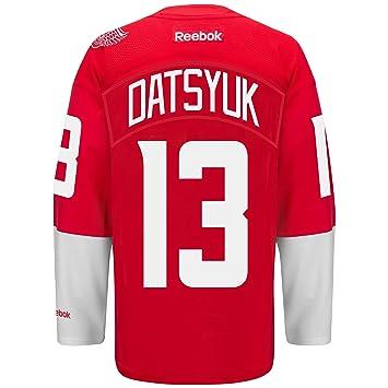 fb8dcfffb ... low price pavel datsyuk detroit red wings reebok stadium series premier  player jersey red large 6443b