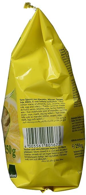 Amazon.com : Bohlsener Mühle Keksfreunde Zitronen, 6er Pack (6 x 250 g)  - Bio : Grocery & Gourmet Food