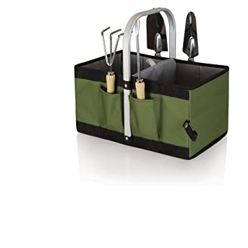 Amazoncom Picnic Time Garden Caddy with Tools Patio Lawn
