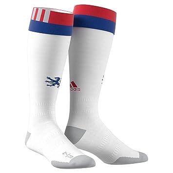 Adidas OL H Sock Calcetines, Hombre, Blanco/rojuni / Reauni, 1: Amazon.es: Deportes y aire libre