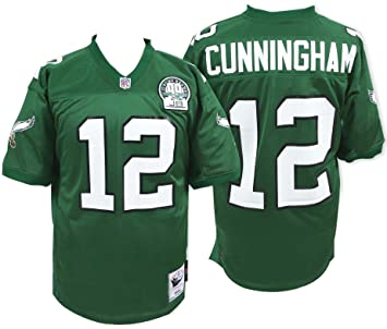 c35f291ee21 Mitchell & Ness Randall Cunningham 1992 Authentic Jersey Philadelphia  Eagles In Green 48, Jerseys - Amazon Canada