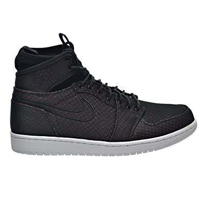 new concept fe1a3 f2c02 Jordan Air 1 Retro Ultra High Men s Shoes Black Ghost Green Blue 844700-