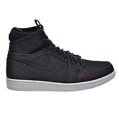 1e37b627c2cc Jordan Air 1 Retro Ultra High Men s Shoes Black Ghost Green Blue 844700-