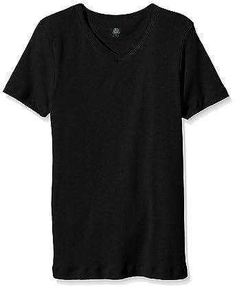 Petit Bateau 16969 - T-Shirt - Uni - Col V - Manches Courtes ... 3a107ff77cdd